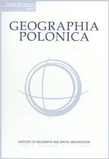 Geographia Polonica Vol. 88 No. 2 (2015), Contents