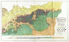 Geognostische Karte der Nord Karpathen in Schlesien und den angrenzenden Theilen von Maehren und Galizien
