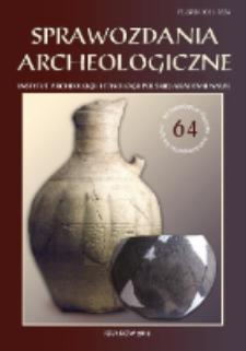 Stratigraphie und Struktur der Ufer- und Abfallzone des steinzeitlichen Seeuferfundplatzes Dąbki 9, Westpommern