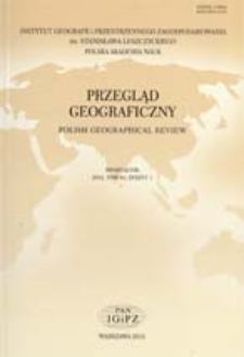 Propozycja metodyczna oceny środowiskowych uwarunkowań lokalizacjifarm wiatrowych w skali regionalnej = A methodological proposal for regional-scale assessment of environmental conditions in relation to the establishment of wind farms