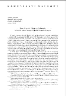 Dwór łowiecki Wazów w Białowieży w świetle źródeł pisanych i badań archeologicznych