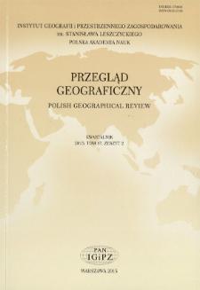 Poglądy antropogeograficzne i geopolityczne Friedricha Ratzla = Friedrich Ratzel's views on human geography and geopolitics