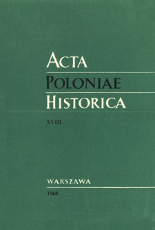 Employment in Poland in 1930-1960. Dynamics and Structure