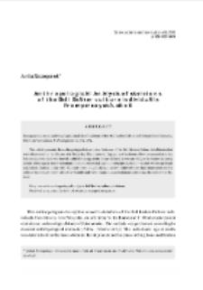 Anthropological analysis of skeletons of the Bell Beaker Culture individuals from Pełczyska, Site 6 = Analiza antropologiczna szkieletów ludności kultury pucharów dzwonowatych z Pełczysk, stanowisko 6