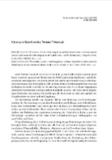 Leśno i mikroregion w późnej epoce brązu i wczesnej epoce żelaza [Leśno und die Mikroregion in der Spätbronze- und Früheisenzeit] Krzysztof Walenta. Chojnice 2008; Leśno i mikroregion w okresie rzymskim [Leśno und die Mikroregion in derrömischen Keiserzeit] Krzysztof Walenta. Chojnice 2009 : [recenzja]