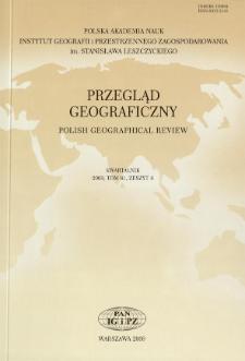 Koncepcje aglomeracji miejskiej i obszaru metropolitalnego w Polsce = Conceptions of the urban agglomeration and metropolitan area in Poland