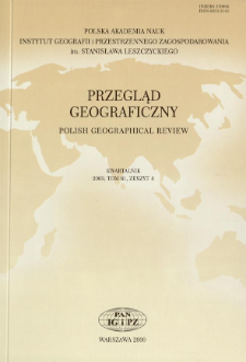 Pozycja polskich czasopism i serii geograficznych w świetle baz Google Scholar = The position of Polish geographical journals and series as seen in the Google Scholar databases