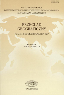 Zmiany pokrycia terenu na pograniczu polsko-słowackim na przykładzie Małych Pienin = Land-cover changes in Polish-Slovakian border regions: a case study of the Małe Pieniny Mts.