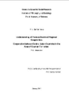 Understanding of Various Models of Regional Cooperation