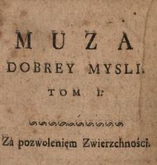 Muza Dobrey Mysli. T. 1.