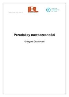 Paradoksy nowoczesności (wstęp)