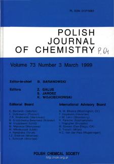 Vol. 73 no. 3 (1999) -SpisTreści-Okładki