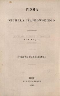 Stefan Czarniecki : powieść historyczna