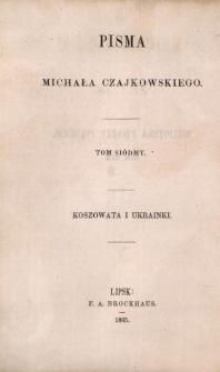 Koszowata ; i Ukrainki
