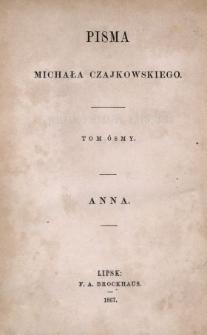 Anna : powieść
