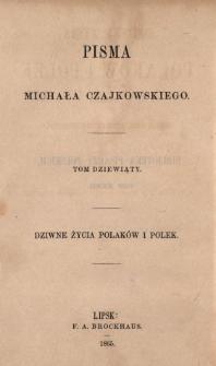 Dziwne życia Polaków i Polek