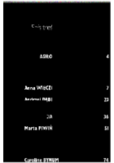 Teksty Drugie Nr 5 (2002), Spis treści