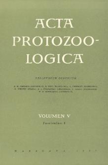 Acta Protozoologica, Vol. V, Fasc. 8