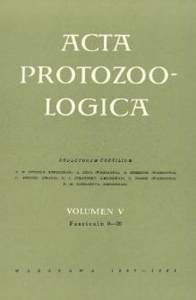 Acta Protozoologica, Vol. V, Fasc. 9-20