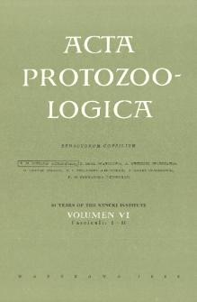 Acta Protozoologica, Vol. VI, Fasc. 1-11