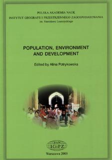 Population, environment and development = Ludność, środowisko i rozwój