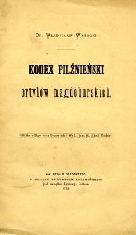 Kodex pilźnieński ortylów magdeburskich