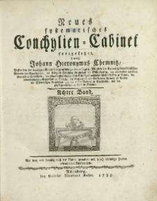Neues systematisches Conchylien-Cabinet. T. 8