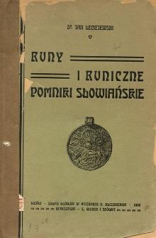 Runy i runiczne pomniki słowiańskie