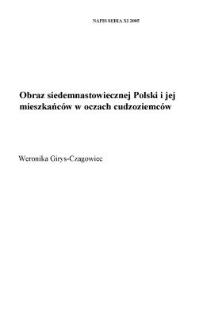 Obraz siedemnastowiecznej Polski i jej mieszkańców w oczach cudzoziemców