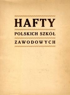 Hafty polskich szkół zawodowych