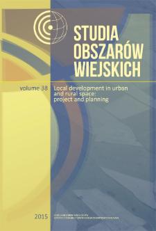 Studia Obszarów Wiejskich = Rural Studies, t. 38, Editorial