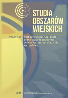 Studia Obszarów Wiejskich = Rural Studies, t. 39, Contents