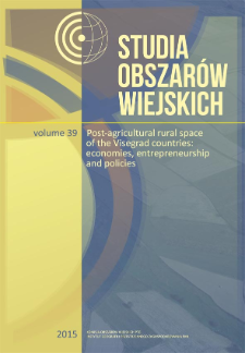 Definition and delimitation of peripheries of Visegrad countries