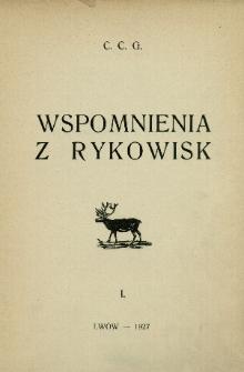 Wspomnienia z rykowisk. 1
