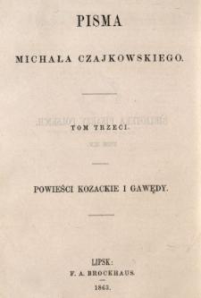 Powieści kozackie i gawędy