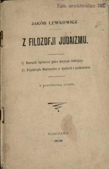 Z filozofji judaizmu