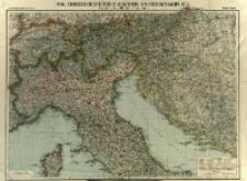 Italienisch-oesterreichischer Kriegsschauplatz : Nord- und Mittel - Italien