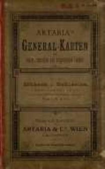 General-Post-und Strassenkarte der Markgrafschaft Mæhren und des herzogthums Schlesien