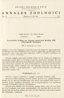 Systematische Stellung von Aegopis mosorensis KUŠČER, 1933 (Gastropoda, Zonitidae)