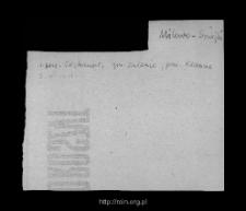Milewo-Szwejki. Kartoteka powiatu przasnyskiego w średniowieczu. Kartoteka Słownika historyczno-geograficznego Mazowsza w średniowieczu