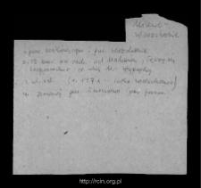 Milewo-Wierzchonie, obecnie cz. wsi Milewo-Wypychy. Kartoteka powiatu przasnyskiego w średniowieczu. Kartoteka Słownika historyczno-geograficznego Mazowsza w średniowieczu