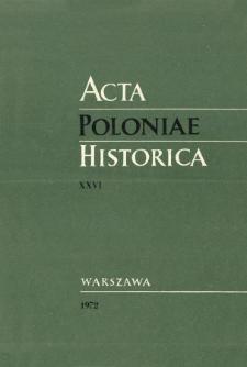 Les transformations de la structure sociale en Pologne au XVIIIe siècle: la noblesse et la bourgeoisie
