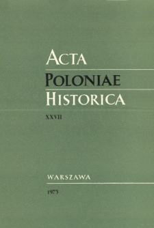 Reflections on the First Partition of Poland (1772)