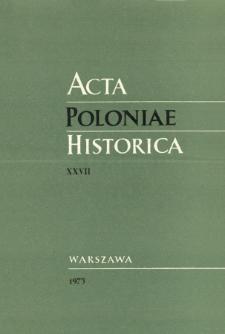 La démographie historique polonaise (XVIIe-XVIIIe siècle): sources, méthodes, résultats et perspectives