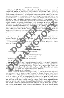 Statistical analysis of nematode diagnostic data: Study case of Prismatolaimus de Man, 1880 (Nematoda: Prismatolaimidae)