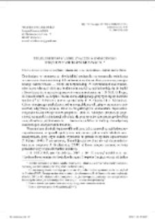 Trójelementowy model znaczenia onimicznego i pojęciowy model onomastykonu
