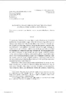 Biblijne nomina propria w aspekcie historyczno-porównawczym (na materiale Biblii Jakuba Wujka i Biblii Gdańskiej)