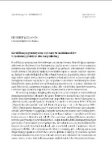 Kwalifikacja gramatyczna wybranych indeklinabiliów w łacińskiej praktyce leksykograficznej