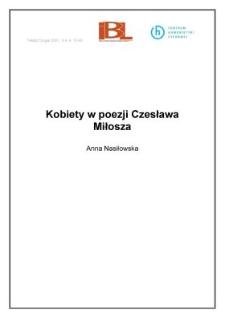 Kobiety w poezji Czesława Miłosza
