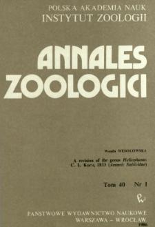 A revision of the genus Heliophanus C. L. KOCH, 1833 (Aranei: Salticidae)